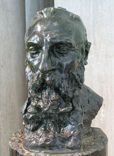 Bust of Rodin - Camille Claudel (Rodin's model, student and lover)