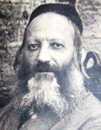 HaRav Avraham Yitzchak HaCohen Kook in Jerusalem