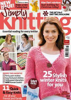 Simply knitting magazine 2009 november