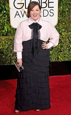 Melissa McCarthy #GoldenGlobes #EWGlobes