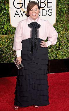 Melissa McCarthy #GoldenGlobes #EWGlobes