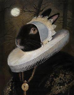 11 illustration portfolios from Bill Mayer containing 417 samples of work. Illustrations, Illustration Art, Lapin Art, Rabbit Art, Rex Rabbit, Bunny Art, Whimsical Art, Pet Portraits, Alice In Wonderland