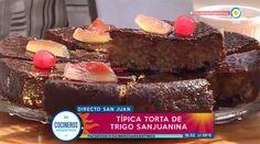 Tradicional torta sanjuanina de trigo