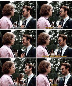 Matt and Foggy Daredevil season 2