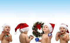 Weihnachten Kinder, Kinder Weihnachten, Merry Christmas-Babys