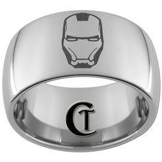 mens iron man wedding band - Google Search   My Wedding ...