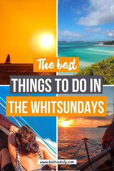 Australia Beach, Queensland Australia, Australia Travel, Sailing Whitsundays, Bora Bora Honeymoon, Kakadu National Park, Honeymoon Pictures, East Coast Road Trip, Fraser Island