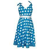 Rare Editions Girls Dress, Girls Polka-Dot Sundress