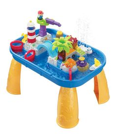 Water fun! Sights 'n' Sounds Splash Table International Playthings #zulily