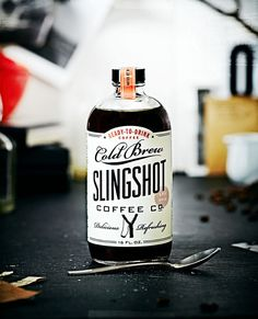 slingshot coffee co. label