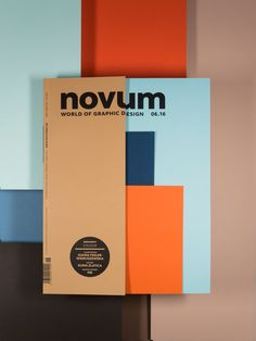 Graphic design magazine with a focus on color