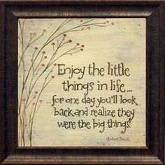 This framed typographic print brings an inspirational message to your walls. Place it in your kitchen or near the entryway to give a cheerful touch to busy m...