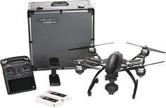 ﹩725.95. YUNEEC Typhoon Q500 4K Quadcopter Drone UHD YUNQ4KPUS w/Carrying Case Black NEW    Color - Silver/Black, Type - Quadcopter, Scan ID - 501039 0801,