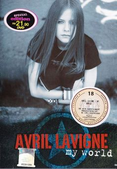 AVIL LAVIGNE My World Try To Shut Me Up Tour Live In New York 2003 DVD NEW