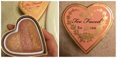This is one of my favorite blushes. It's by too faced and is in the color beach peach! I love and it's great to match any complexion and add a little bit of color