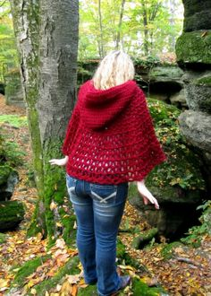 New+Crochet+Patterns | Wildwood Capelet - New Crochet pattern and tutorial