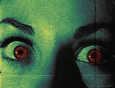 gif art eyes vintage horror psychedelic rhett hammersmith international haus of horrors Retro Horror, Vintage Horror, Arte Horror, Horror Art, Horror Films, Princesa Punk, Beste Gif, Creepy, Scary