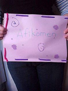 scrumdilly-do!: It's Afikomen time!