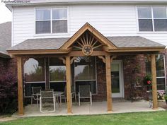 gable deck roof designs | gable roof | pinterest | roof design ... - Patio Roofing Ideas