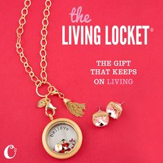 Give her the gift that keeps on *living*... Origami Owl Living Lockets!