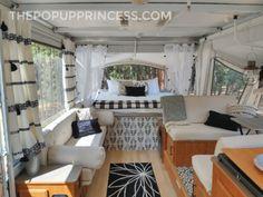 Camper Beds, Diy Camper, Camper Life, Camper Van, Tent Campers, Rv Life, Camper Trailers, Travel Trailers, Caravan Makeover