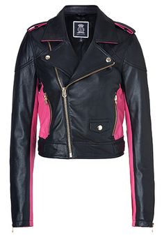I want this jacket! But maybe with a different color on the sides, preferably not pink.