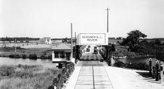 Broadkill River bridge in Sussex County, Delaware.  1540-000-009 #2613.  Delaware Public Archives. www.archives.delaware.gov