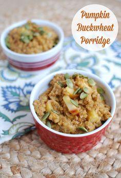 Pumpkin Buckwheat Porridge
