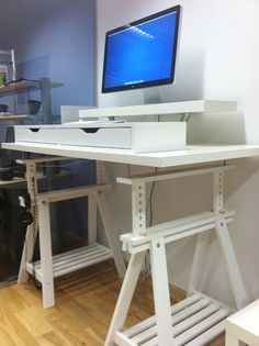 1000 Images About Standing Desk On Pinterest Standing