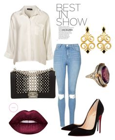 """""""Best simples!!!"""" by daniellecarso on Polyvore featuring Topshop, Christian Louboutin and Chanel"""