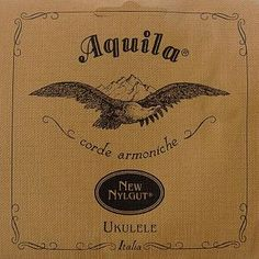 Aquila new Nylgut ukulele strings were developed by blending three synthetic components to make a material that both sounds better and stays in tune better than standard nylon strings. They absorb less moisture; improving intonation and accuracy. Kala Ukulele, Banjo Ukulele, Ukulele Strings, G Strings, Ukelele Soprano, Ukulele Accessories, Instruments, Mandolin, Cursed Child Book