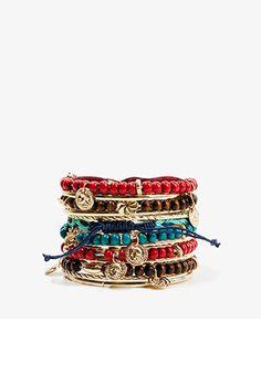 Warrior Bracelet Set $6.80