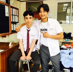 Key and Minho on Drink Solo. 2016