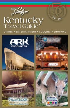 Pick up the 50th edition of the Kentucky Travel Guide, and be sure to visit Ark Encounter, Paintsville Tourism, Newport on the Levee and Kentucky Down Under Adventure Zoo! Don't forget to tag your adventures with #KYTravel!