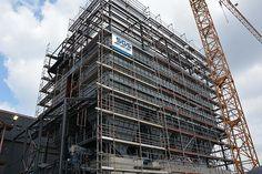 Stahlwerksentstaubungsanlage SEKU 3.1 Pos, Skyscraper, Multi Story Building, Linz, Skyscrapers