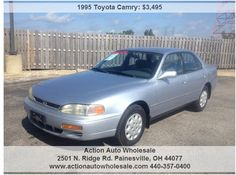 95 Camry- Fuel Efficient -Affordable-Very Clean-No Rust Here Rust Free, Free Cars, Toyota Camry, Vehicles, Cars, Vehicle