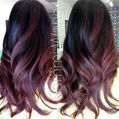 Balayage flamboyage,  Whos care the name!?? Love this red