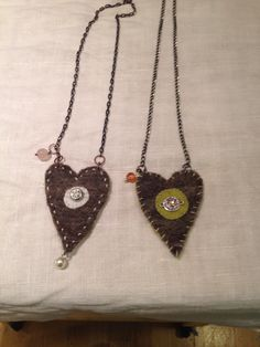 Felt craft necklace