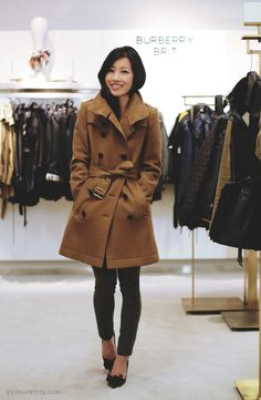Classic #burberry wool Daylesmoore trench coat