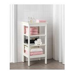 IKEA - HEMNES, Étagère, blanc, , Les tablettes ouvertes donnent un large aperçu et offrent un accès facile.