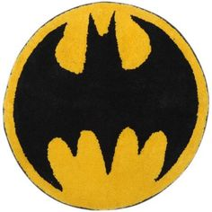 Batman Logo Tufted Bath Rug - Batman Logo Tufted Bath Rug >>> Be sure to check out this awesome product. (This is an affiliate link) #BatmanLogoTuftedBathRug