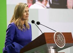 Queen Maxima of The Netherlands visits Mexico City
