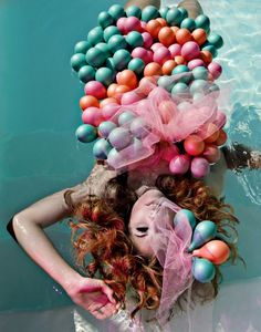 Beautiful Images, Wearable Art, Whimsical, Balloons, Bubbles, Balloon Party, Pretty, Php, Photoshoot Ideas