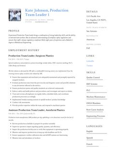 11 Best Product Manager Resume Samples images | Manager ...