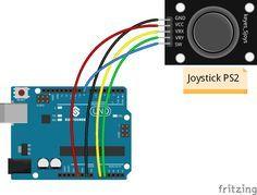 Lesson 20 Joystick PS2