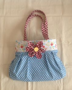 Bag made with help of Debbie Shore on YouTube