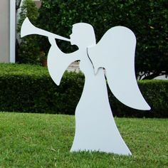 JOY ANGEL YARD ART | Holy Night Complete Nativity Scene - Large