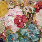 Les fleurs aux quatre saison par GAGNON  #Art #Artwork #painting #artist #artiste #peinture #painter #colors #homedecor #flowers #fleurs Art Abstrait, Artwork, Paintings, Cirque Du Soleil, How To Paint, Graphic Design, Artist, Flowers, Work Of Art
