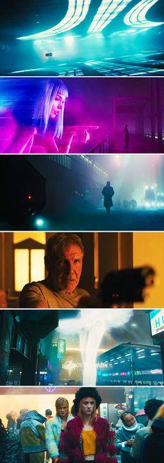 BLADE RUNNER 2049 #cinema #movie The Best Films, Great Films, Good Movies, Cinematic Photography, Film Photography, Color In Film, Denis Villeneuve, Movie Screenshots, Blade Runner 2049
