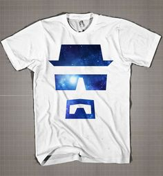 Breaking Bad Logo Galaxy  Mens and Women T-Shirt Available Color Black And White